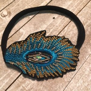Other - Peacock inspired headband